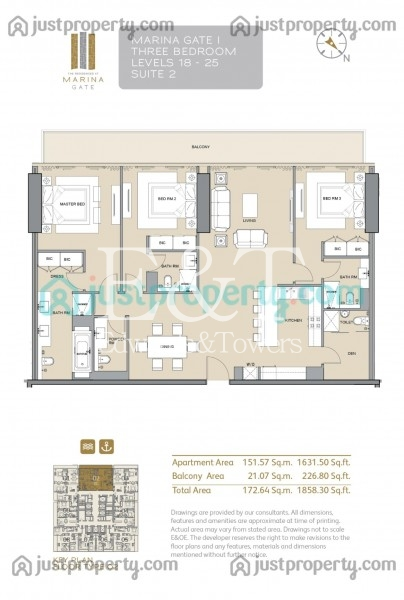 Marina breath | Best deal 3BR | Observatory View