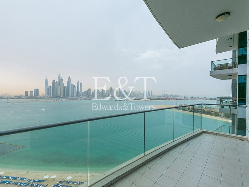 1 bed Oceana apartment with the best view