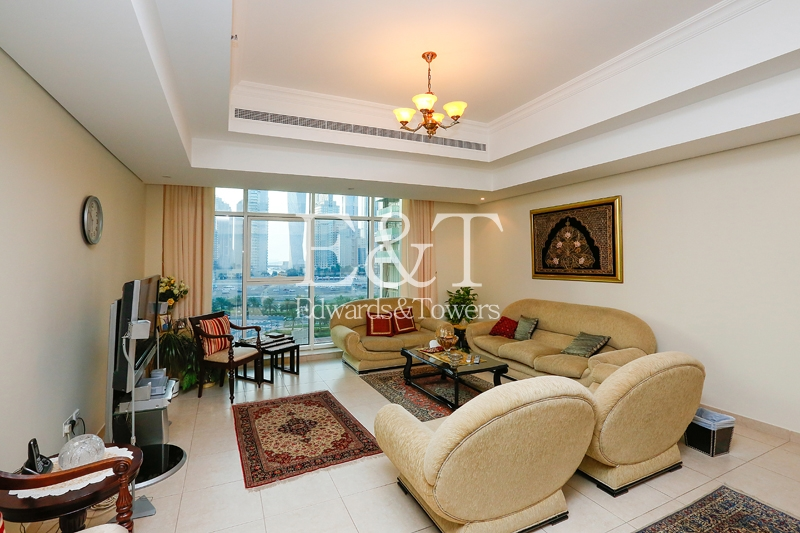 2BR+Maids room|Unfurnished |Close to Metro