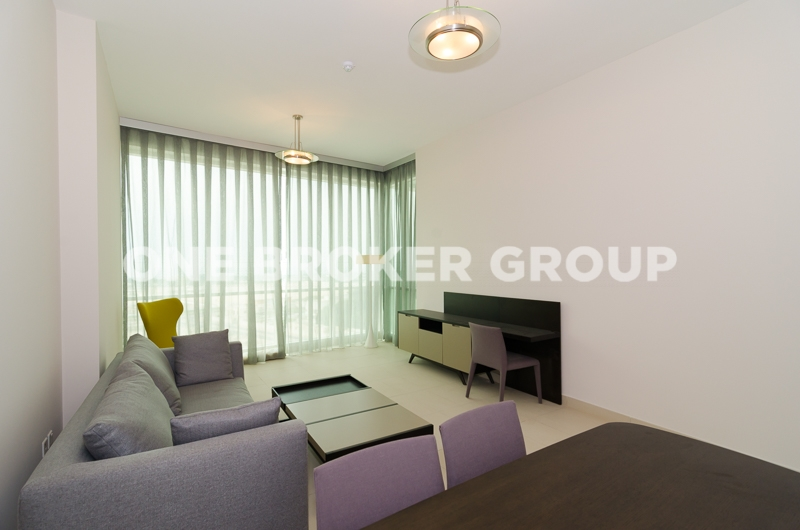 Full Sea View Apt,Vacant and Furnished