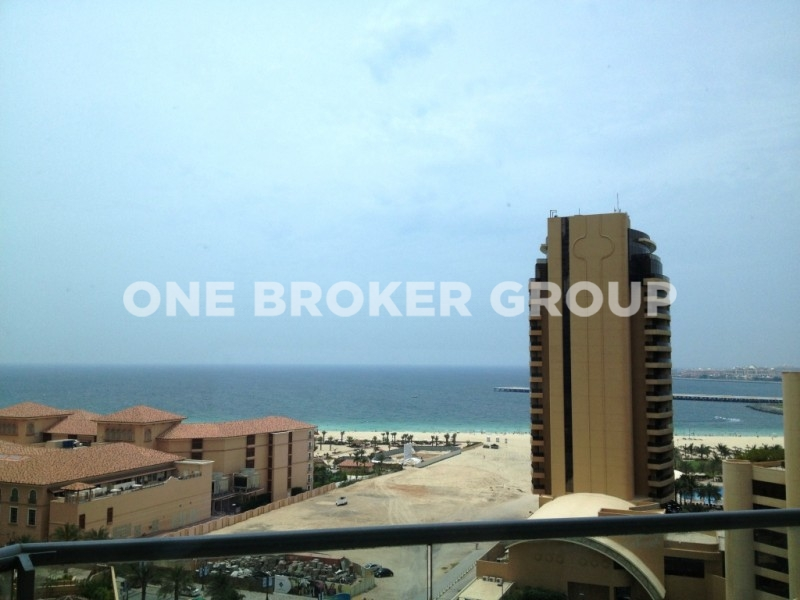 Sea View, Best Layout for 2BR plus Maids