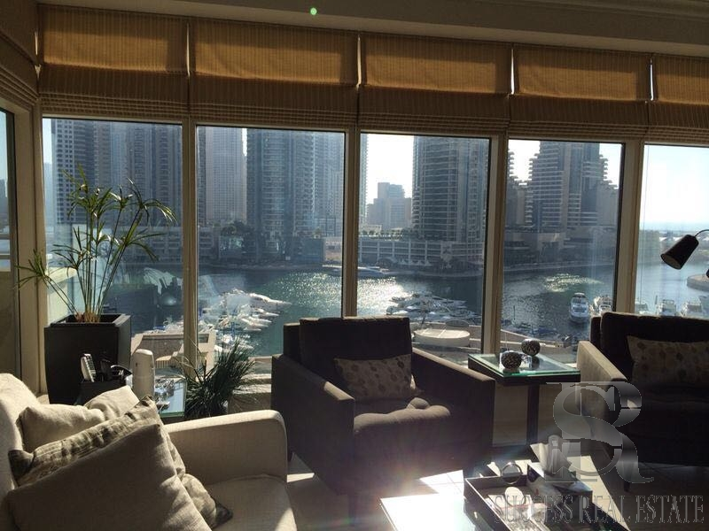 3 BR + Maids in Al Anbar - Full Marina View