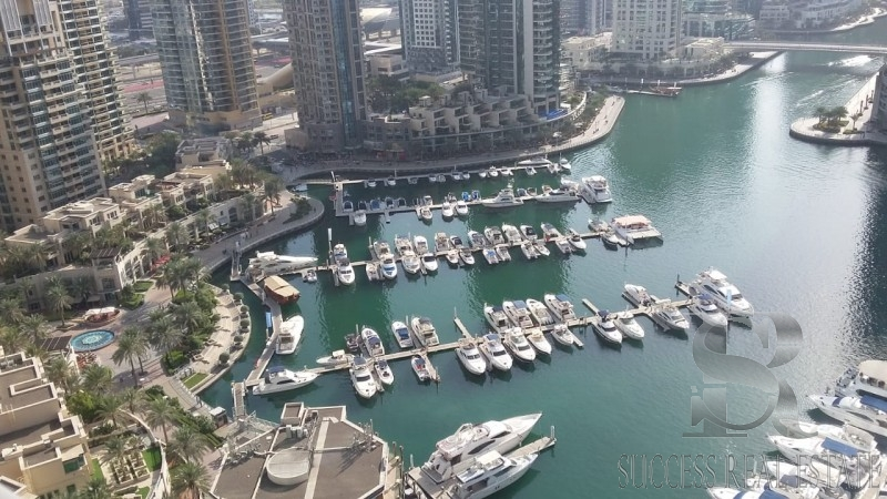 Marina Gate 1 - Best Unit !! - Full Marina View - 3 BR + Maid