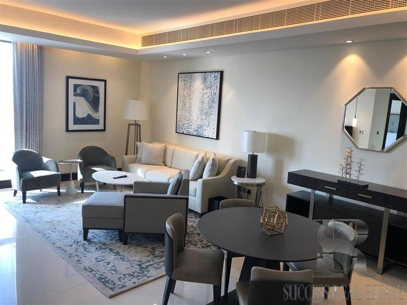 Luxurious One BR | Fully Furnished | Address Downtown
