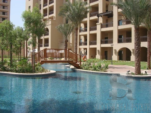 Spacious 2 bed+Maids| Direct Garden & Pool