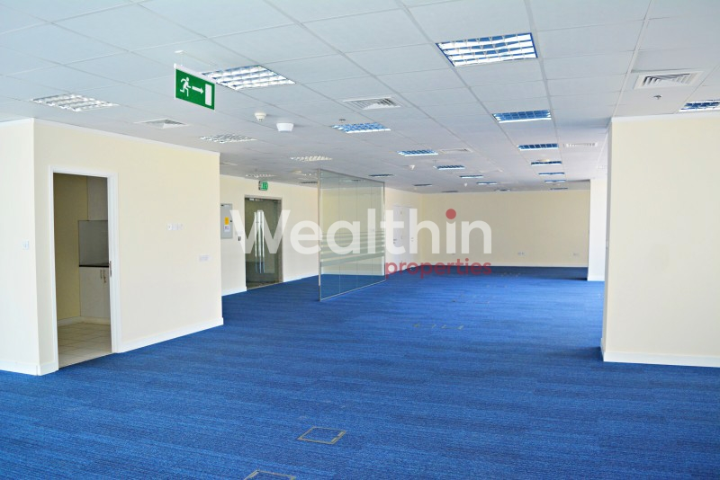 Large Fully Fitted Office For Rent With Great View In Reef JLT