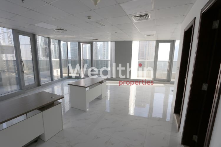 Lake View Fully Fitted Office For Rent In Platinum Tower JLT