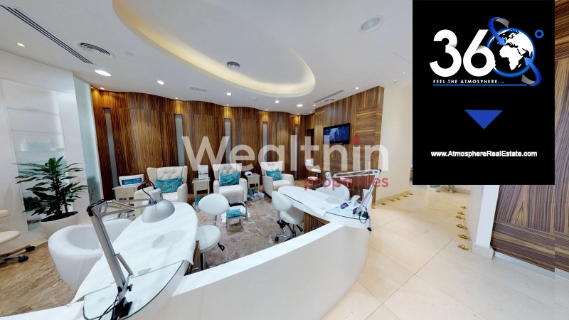 Fully-Furnished Chic,  Vibrant And Spacious Salon For Rent In Business Bay Near To Metro