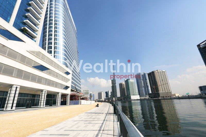 Retail For Rent With Canal View In Business Bay