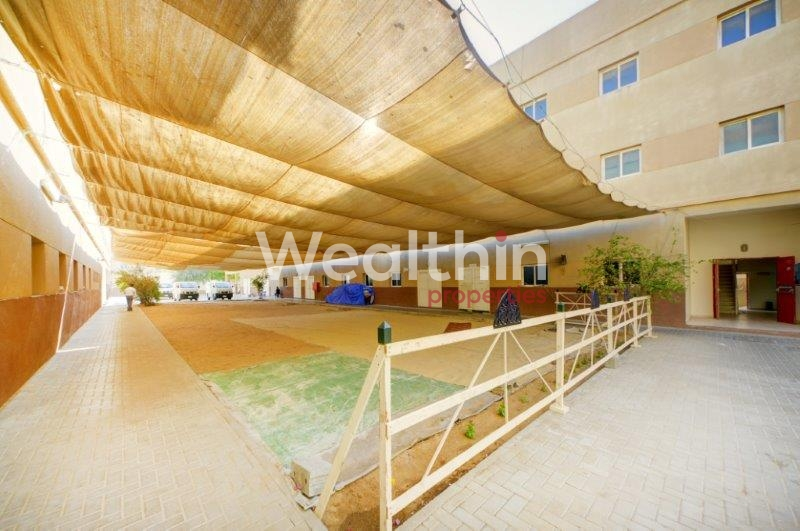 64 Rooms Full Labour Camp For Rent AED 2800 Monthly In DIP