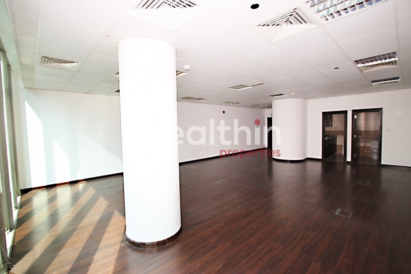 Best Price! Spacious Fitted Office In Prism Tower