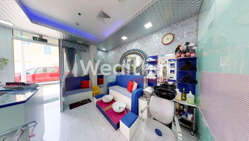 Running Beauty Salon For Sale In JVC