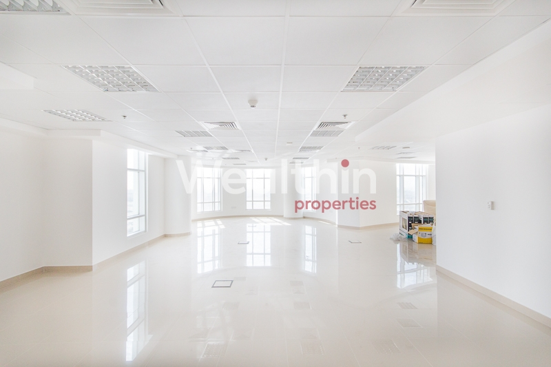 Bright And Clean Fitted And Furnished  Office For Sale In Dome