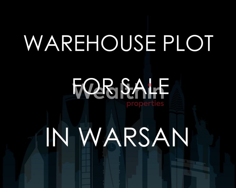 Warehouse Land For Sale In Warsan First