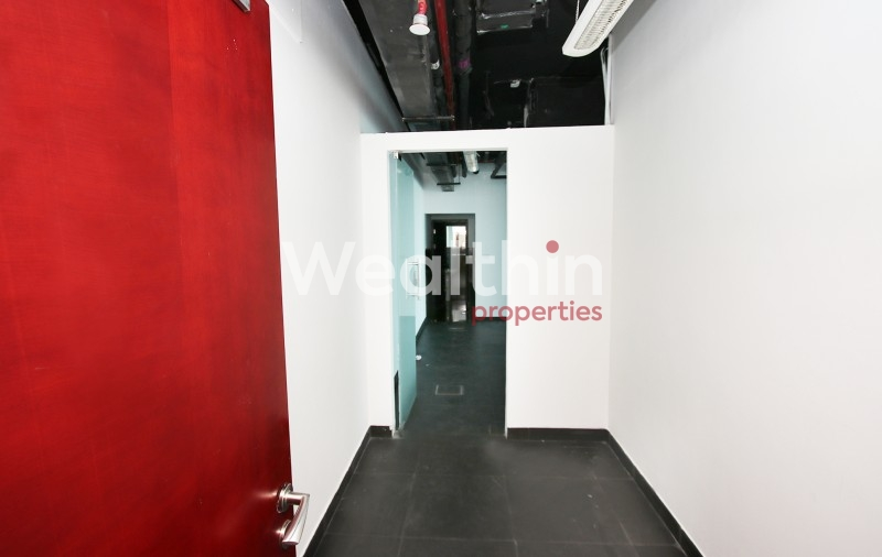 Fully Fitted With Partitions Office For Rent In X2 - JLT
