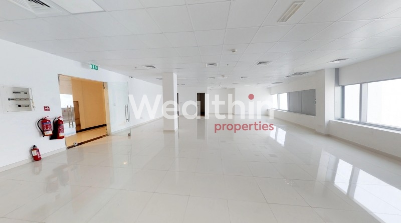 Walking Distance To Metro Station - Exclusive Vacant  Fitted Office For Sale Only 757 AED Per Sq.Ft