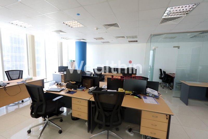 Fitted Office In Prism Tower Business Bay