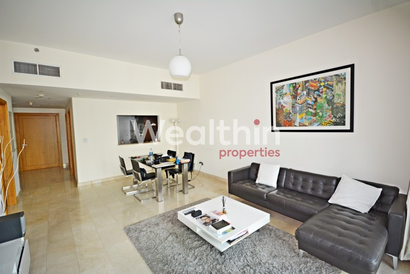 Fully Furnished 1BR + Storage In Trident Bayside
