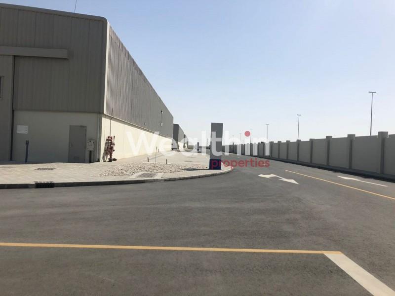 Multi Purpose Warehouses In Industrial Park