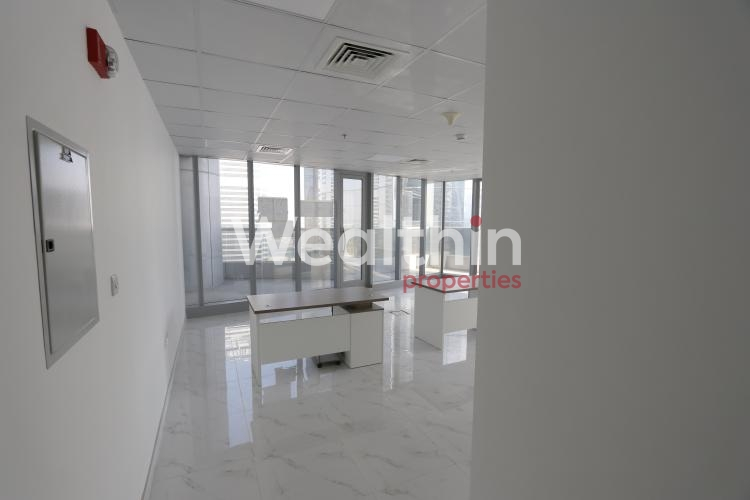 Fully Fitted Office With Lake View | Platinum Tower - JLT