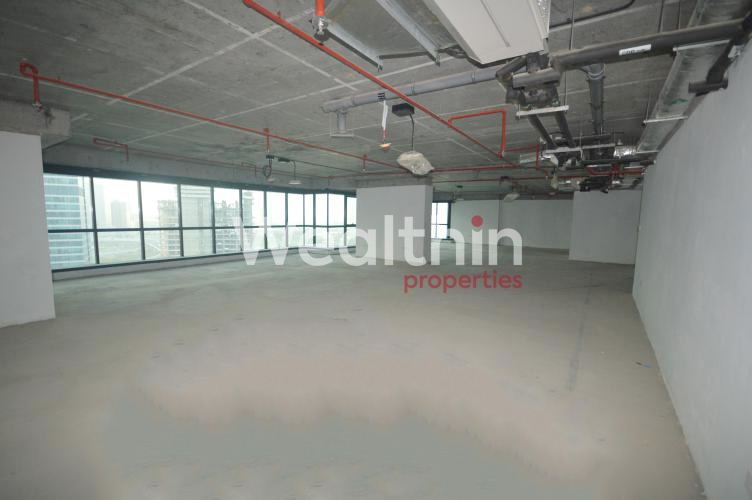 Shell And Core Office For Rent In JBC 3 - JLT