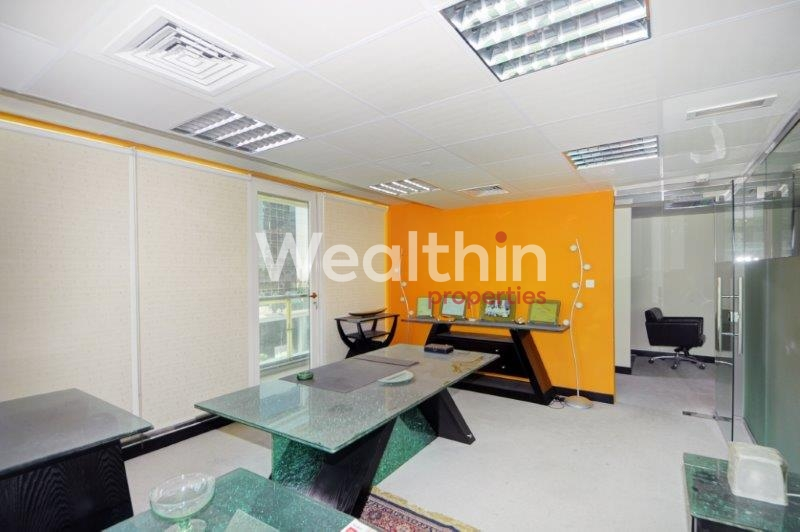 Fully Fitted Office For Rent  In Dubai Arch - JLT
