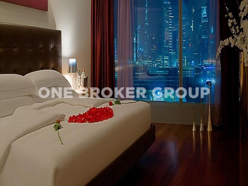Fully Furnished 2 Bedroom Duplex Apt