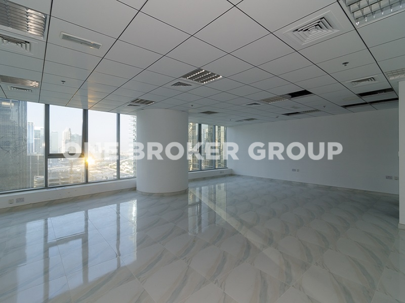 Fully Fitted Office Space, Lake view, Middle Floor