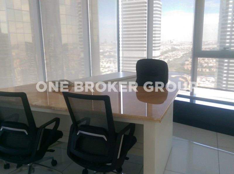 Furnished Large Office, High Floor,