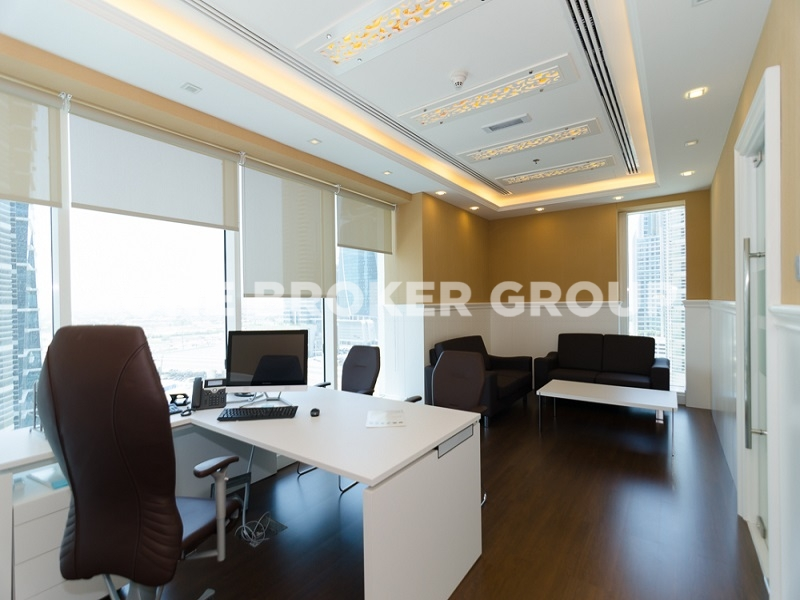 Furnished Office,Partial Lake View,9 percent ROI