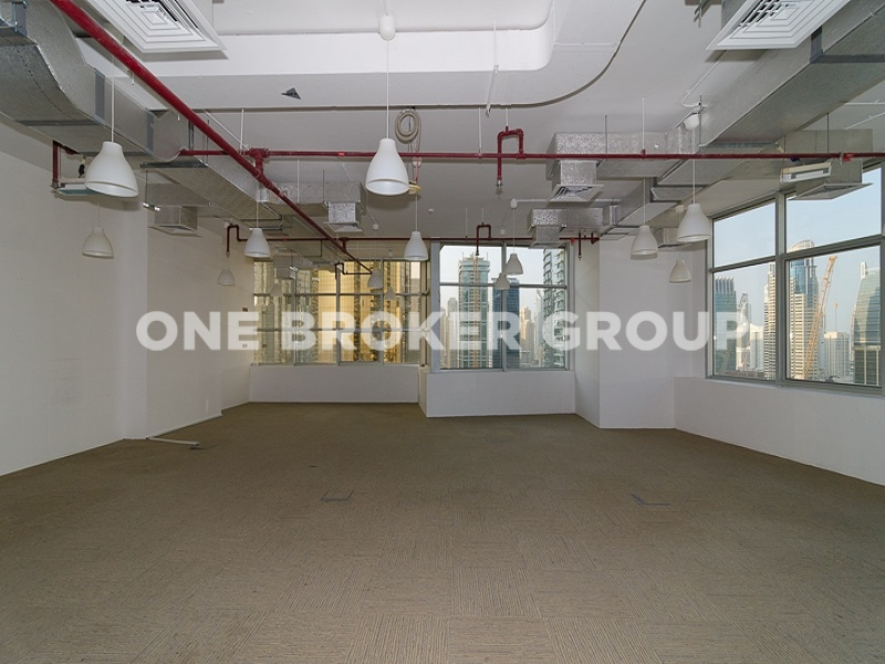 Shell and Core Office Space, Multiple Units, Low Floor, Mazaya AA1
