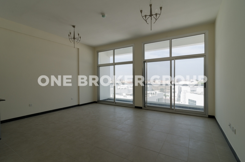 Vacant, Unfurnished 2BR on a high floor