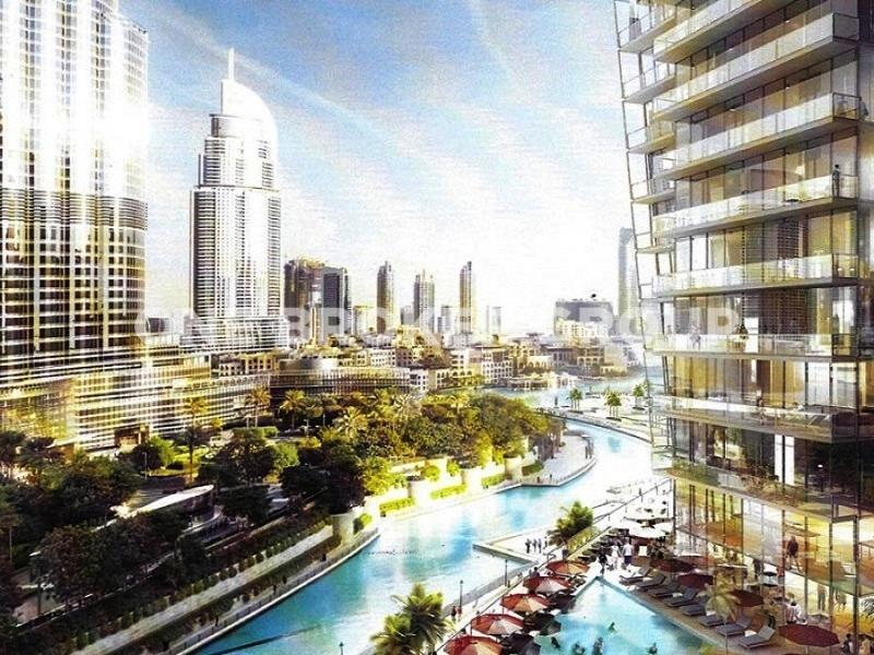 Luxurious 2BR Apartment with Burj Khalifa View