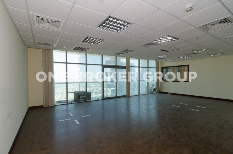 Semi Furnished Office in Tiffany Tower