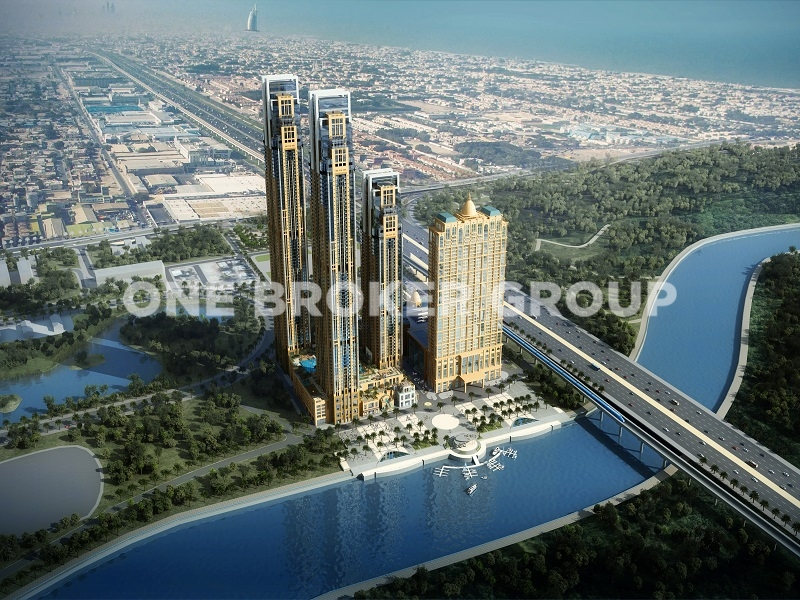 1Bed with Full Canal View | Habtoor City