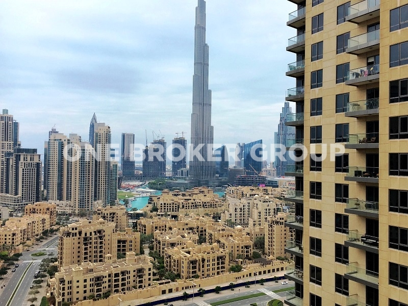 High floor , Full Burj Khalifa View Apt.