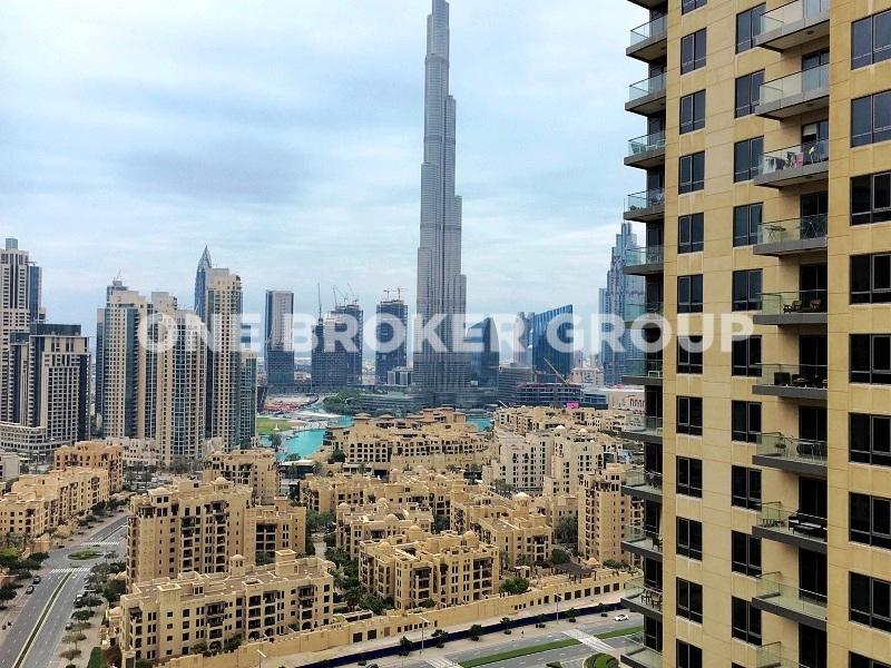 High floor , Full Burj Khalifa View Apt.