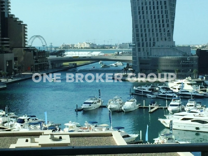 Luxury 2BR, Study Waterfront,Marina View
