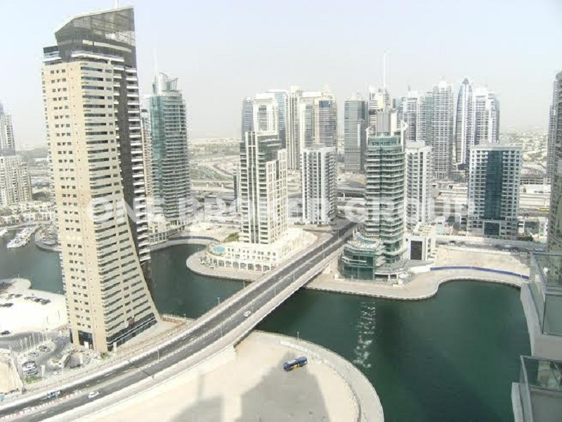 1BR w Full Sea and Marina Views,Tenanted