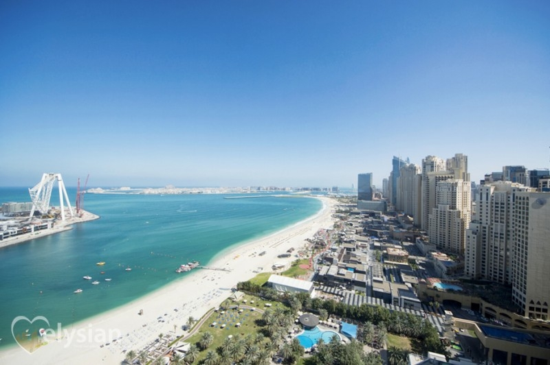 Full Sea and Palm View, 1 bed, Brand New