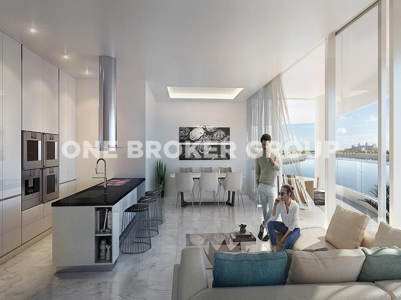 Massive 2 BR,High End Living on the Palm