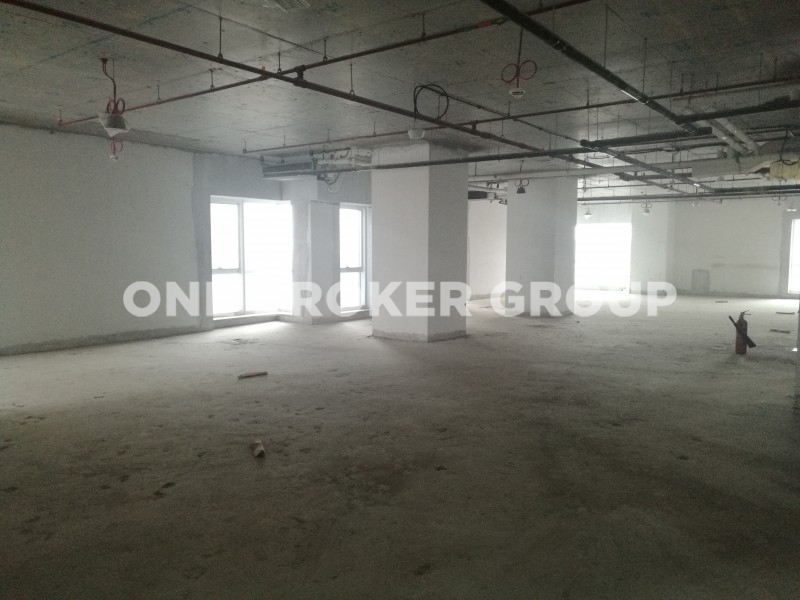 Sheikh Zayed Road View,Shell and Core Office Space