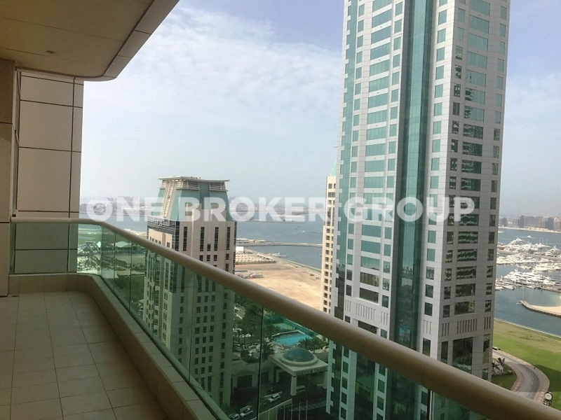Furnished 2 Bed,Partial Marina, Sea View
