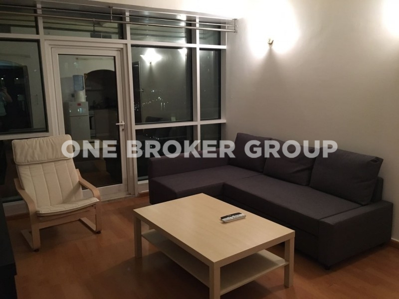 Near to Metro, Vacant 1 Bed with Balcony