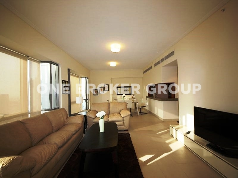 Fully Furnished 2 BR w Burj Khalifa View