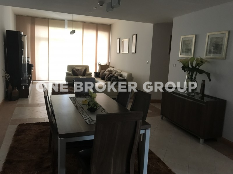 Fully Furnished 2BR with Balcony,Marina View