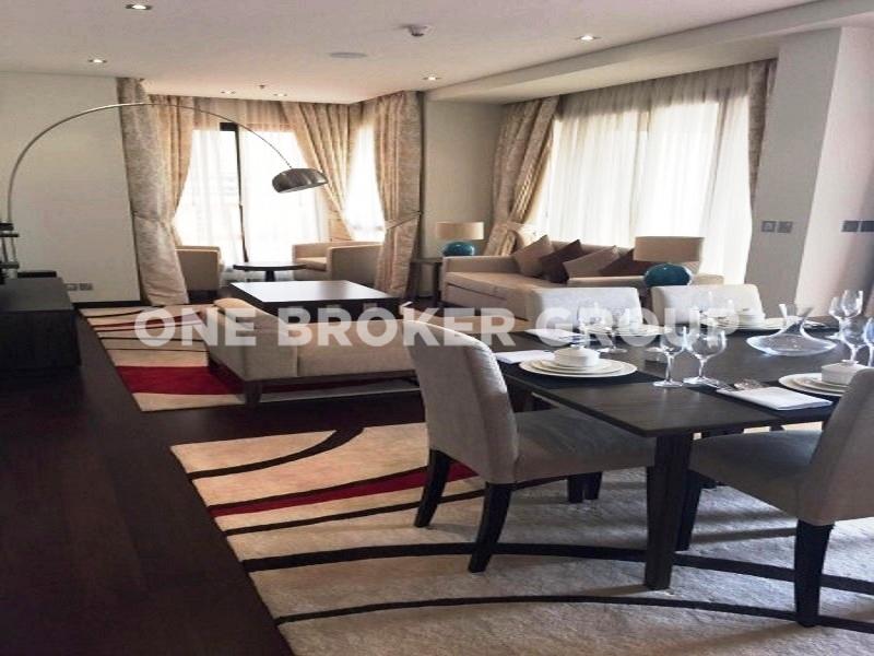Luxury Furnished, Sea and Burj Al Arab