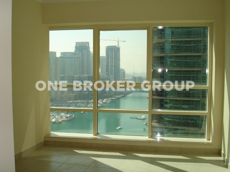 1BR with Full Marina View,Equipped Kitchen
