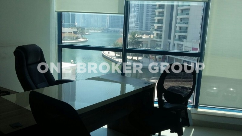 Fully Fitted Office Space,Lake View,Jumeirah Bay X2
