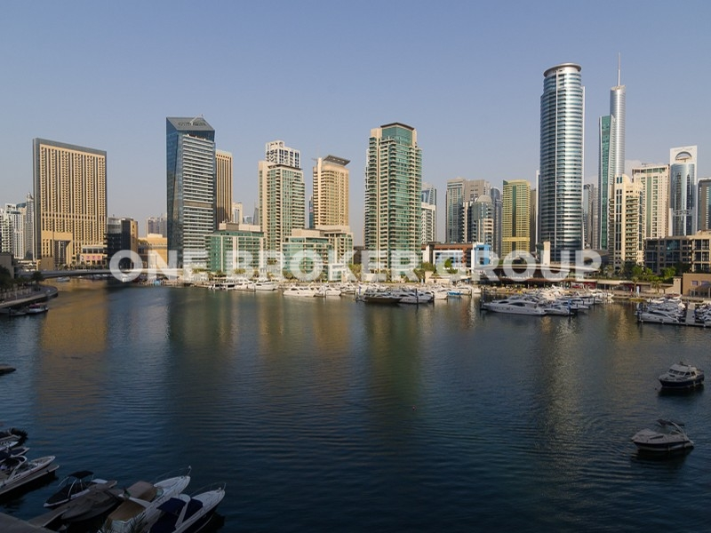 Stunning Full Marina View 2 Bedroom Apt